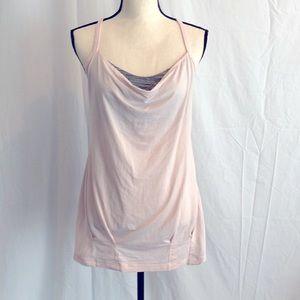 Lululemon CYB Pretty Pink/Wee Space Grey Tank 10